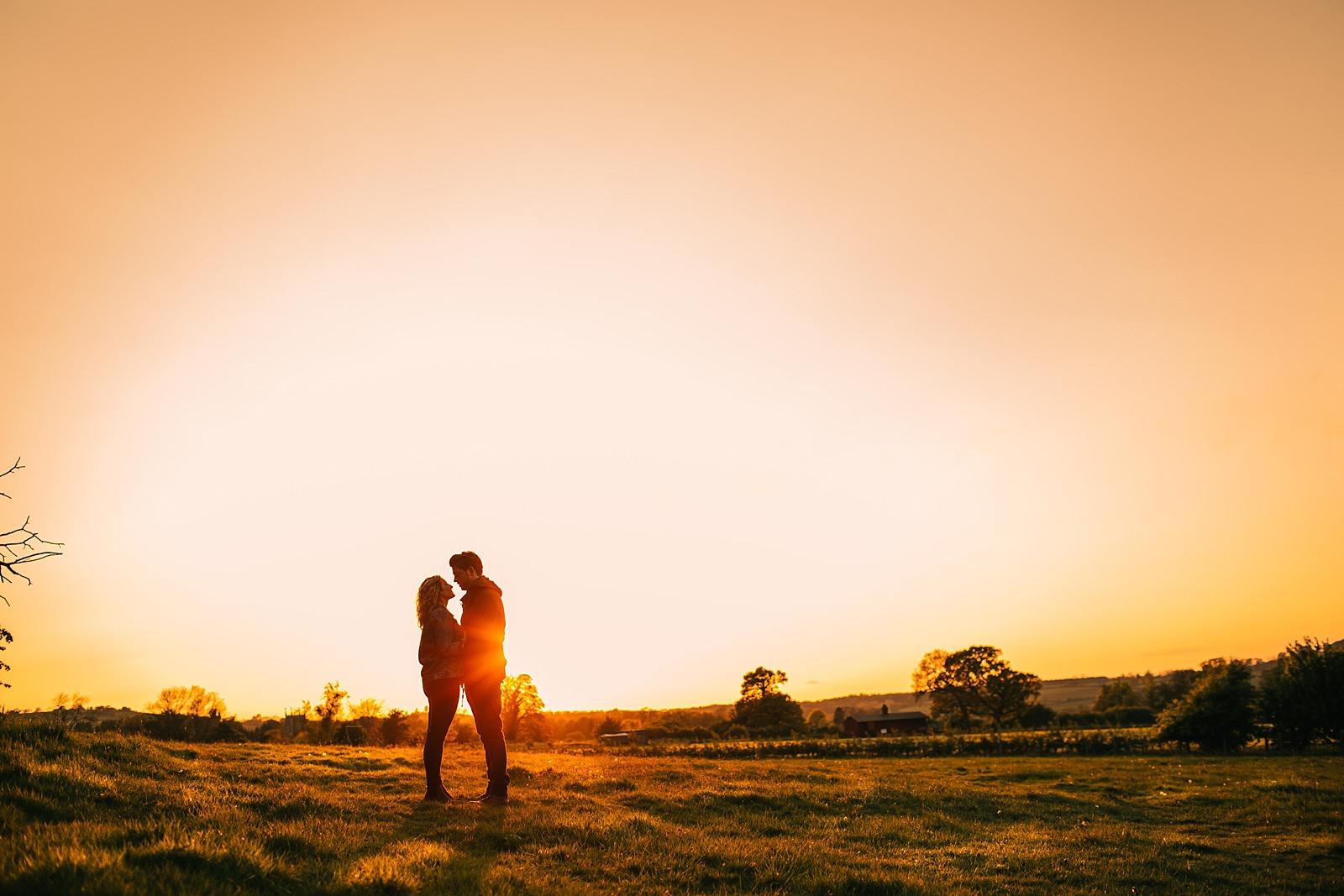 Pre wedding photoshoot in Badby Woods