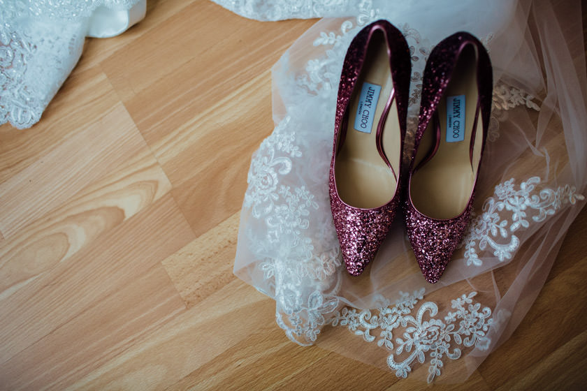 Brides footwear captured here.