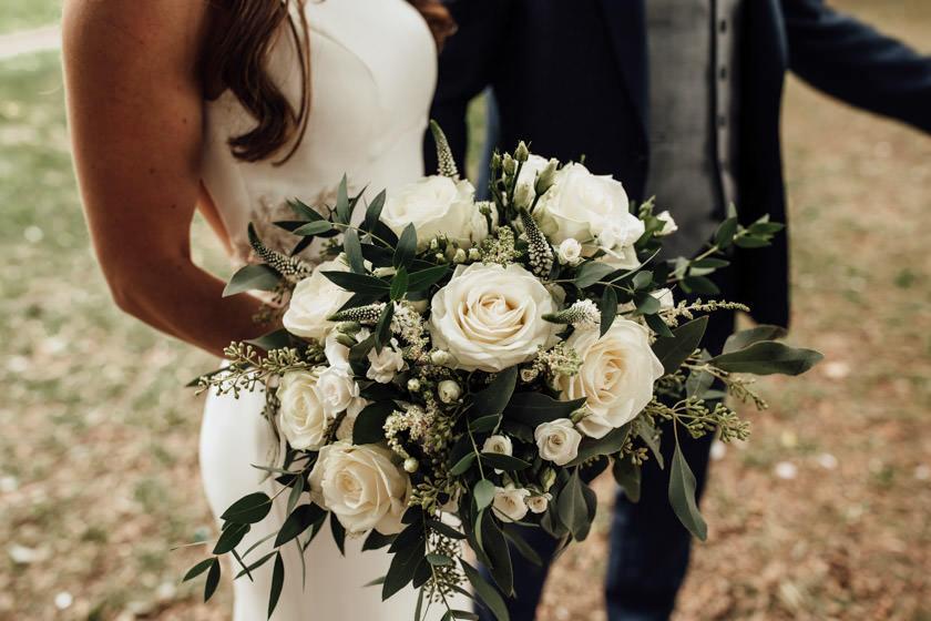 bridal bouquet Nottingham Wedding Photographer